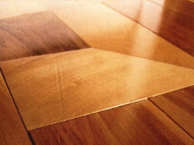 Prefinished wood floor
